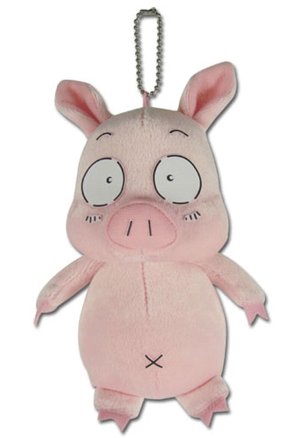 Accel World Haru Pig 6 Inch Plush Keychain