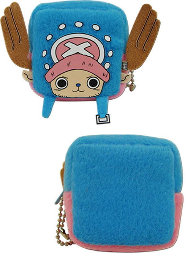 One Piece Chopper Cube Coin Purse