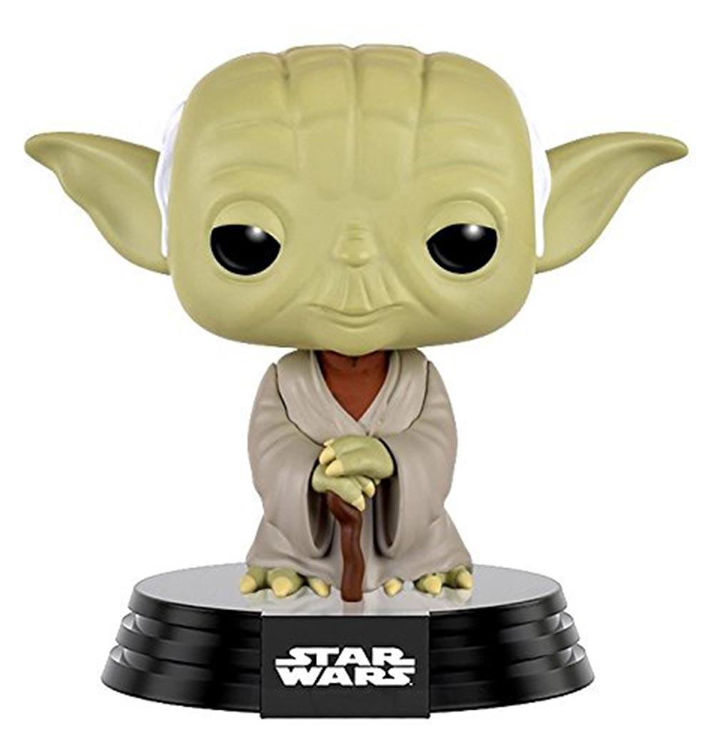 Pop Star Wars Dagobah Yoda Vinyl Figure
