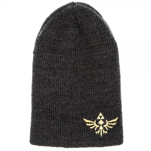 Legend of Zelda Logo Slouch Beanie