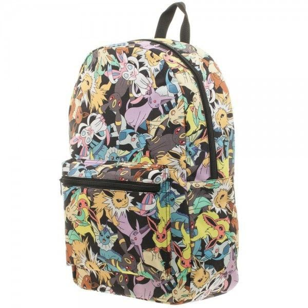 Pokemon Eevee Evolution Toss Print Sublimated Backpack