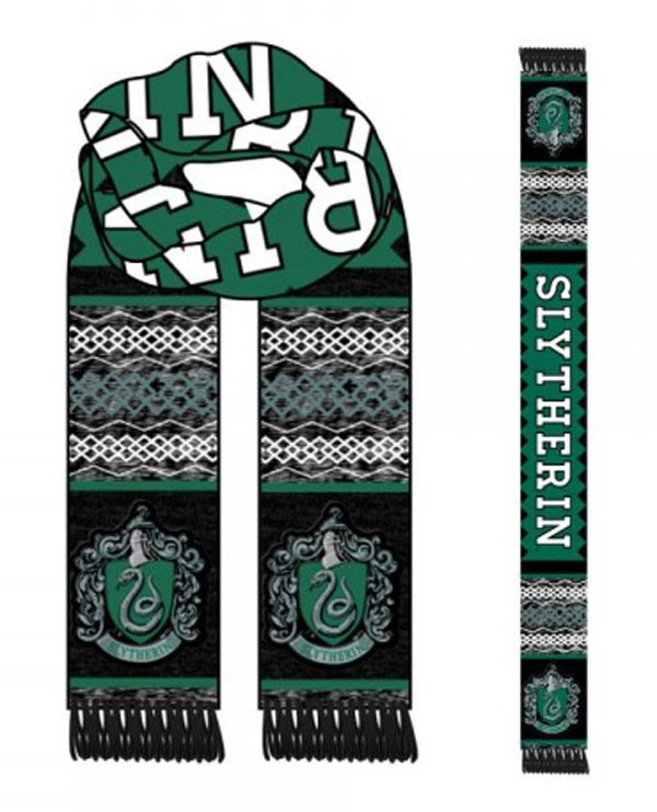 Harry Potter Slytherin Jacquard Scarf