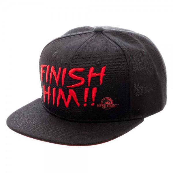 Mortal Kombat Finish Him!! Snapback