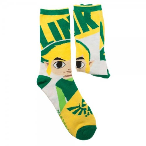 Legend of Zelda Reversible Crew Socks