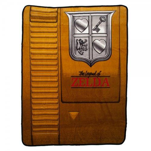 Legend of Zelda Gold Cartridge Throw