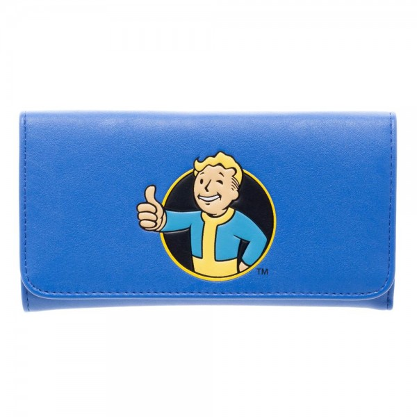 Fallout Vault Boy Jrs. Flap Wallet