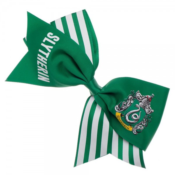 Harry Potter Slytherin Green Cheer Bow