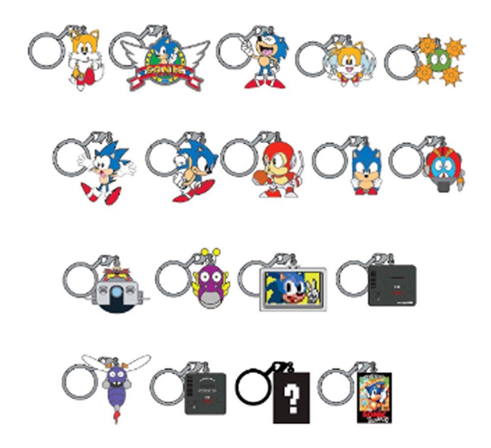 Sonic the Hedgehog Series 1 Keychain