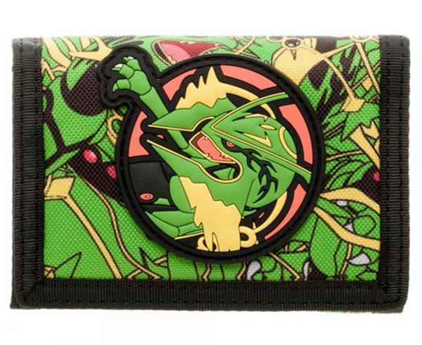 Pokemon Rayquaza Tri-Fold Velcro Wallet
