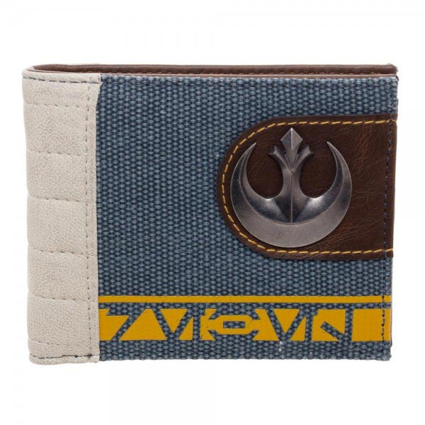 Star Wars Rogue One Rebel Mixed Material Bi-Fold Wallet
