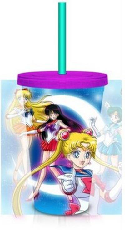 Sailor Moon Lenticular 18oz Carnival Cup