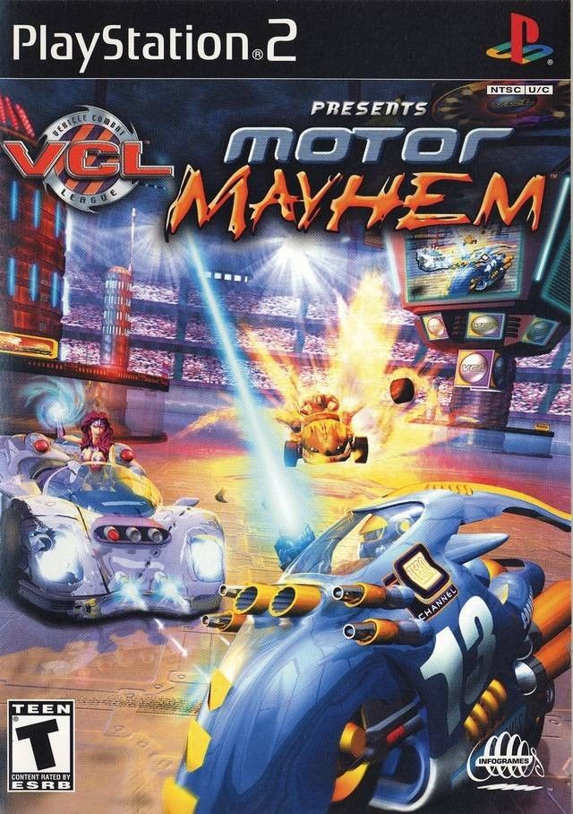 Motor Mayhem: Vehicular Combat League