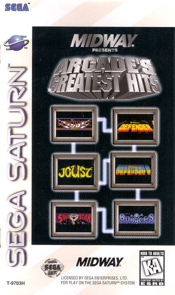 Midway Presents Arcade's Greatest Hits