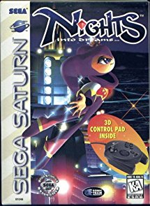 NiGHTS Into Dreams W/3D Control Pad