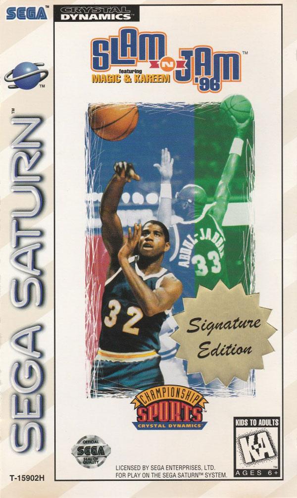 Slam 'n Jam '96 featuring Magic and Kareem