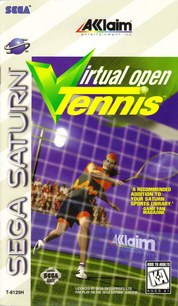 Virtual Open Tennis