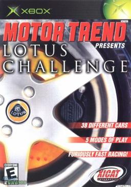 Motor Trend Lotus Challenge