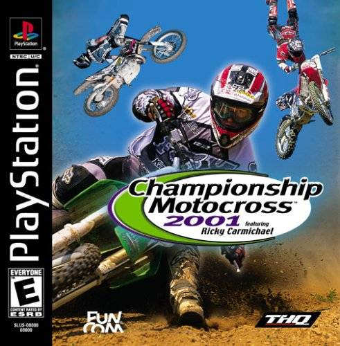 Championship Motocross 2001Featuring Ricky Carmichael