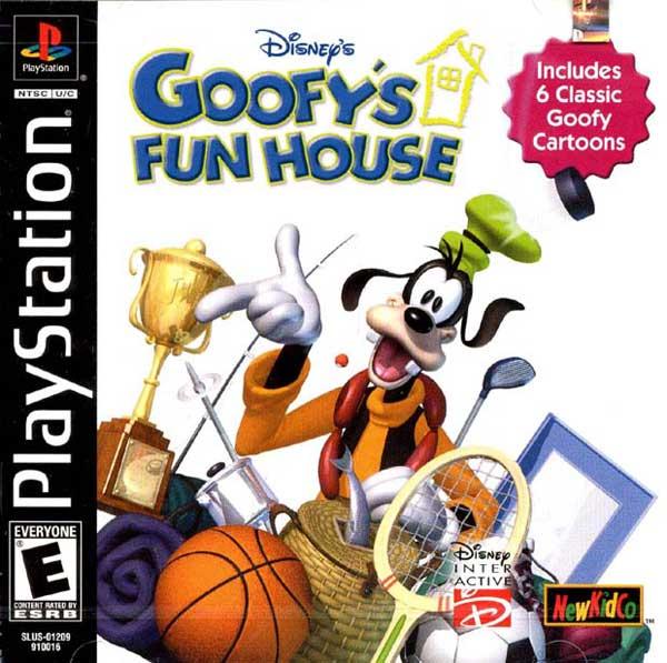 Disney Goofy's Fun House