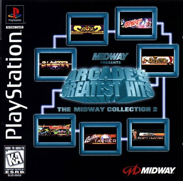 Midway Arcade's Greatest Hits Midway Collection 2