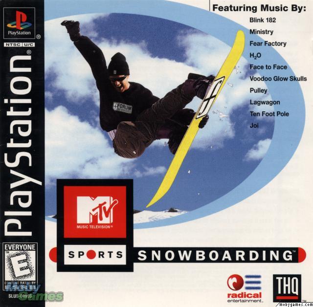 MTV Snowboarding