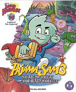 Pajama Sam: You Are What You Eat