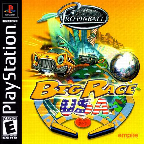 Pro Pinball Big Race USA