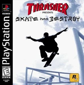 Thrasher Skate & Destroy