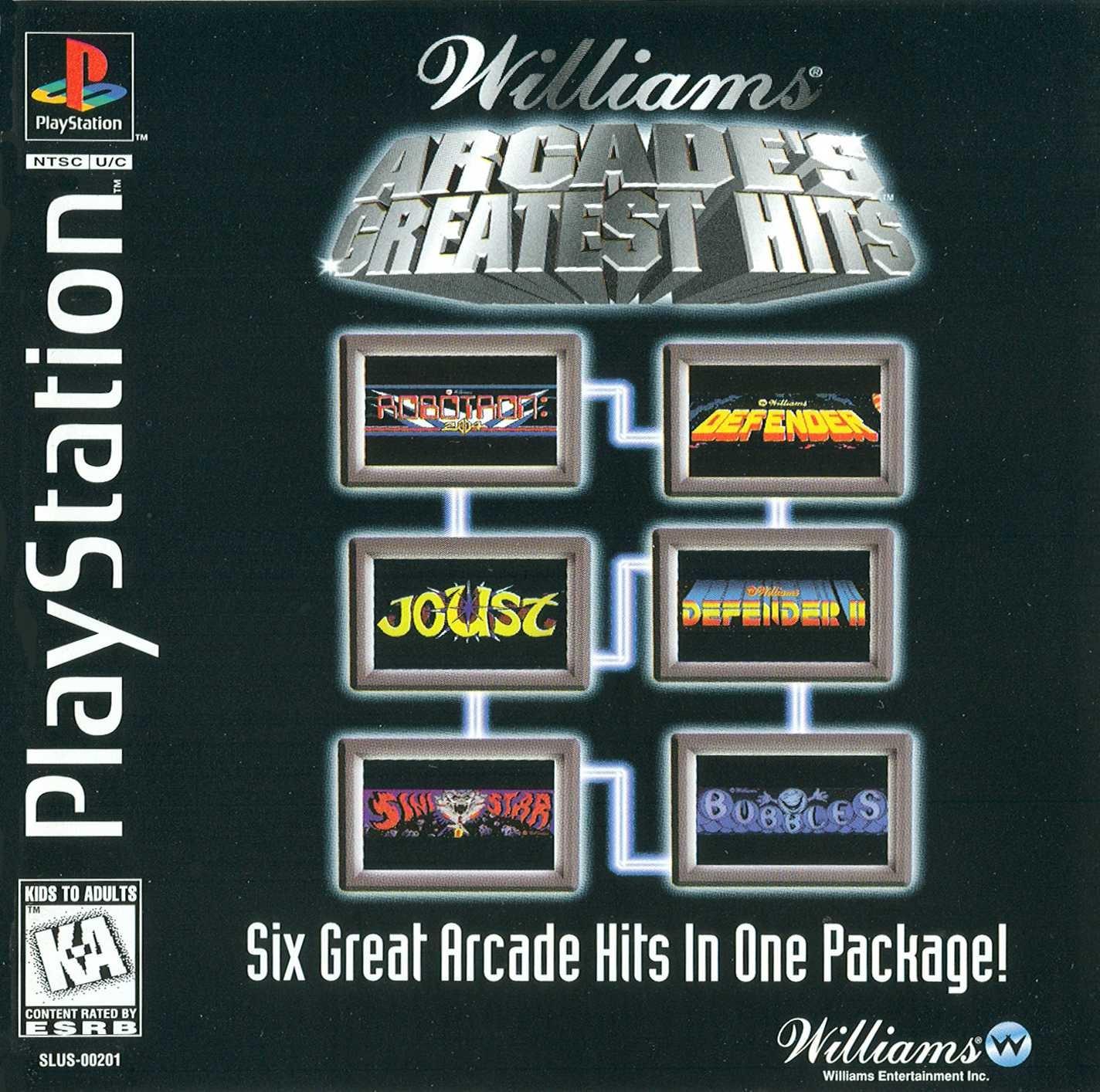 Williams Arcade Greatest