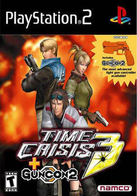 Time Crisis 3 with Guncon 2